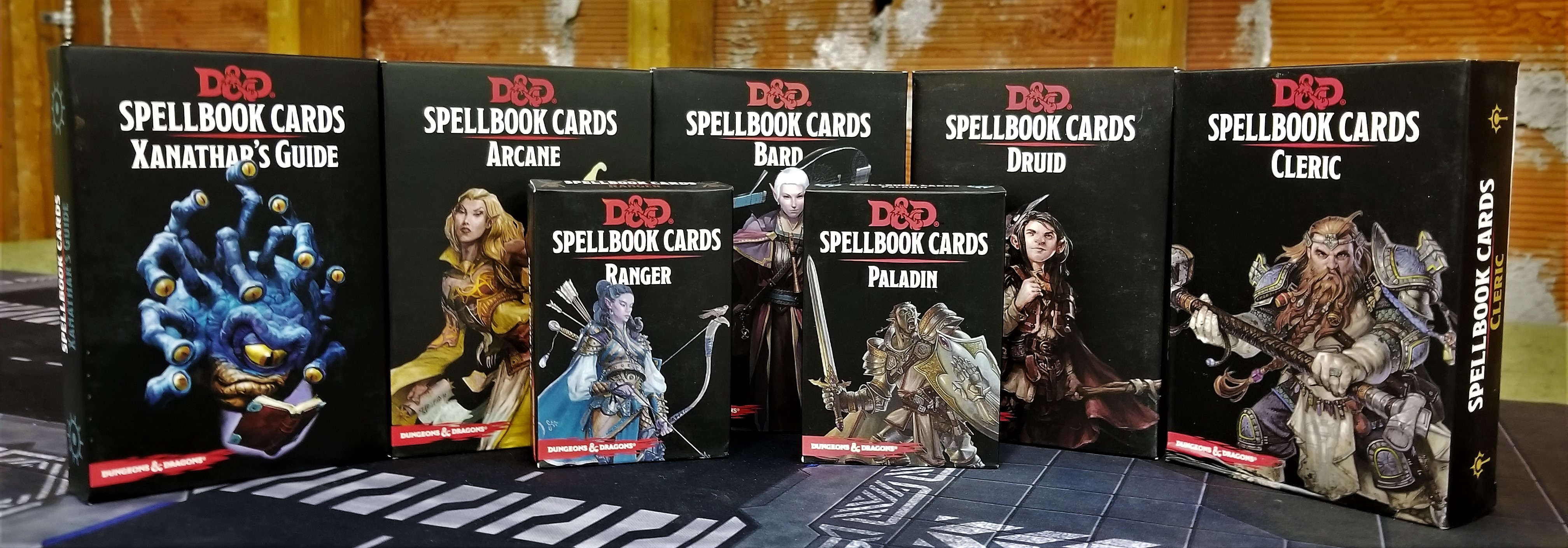 SpellBookcards